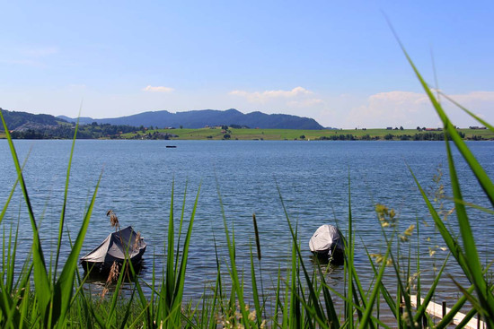 Boote am Shilsee